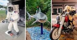 Enlace a Esculturas asombrosas hechas con Lego