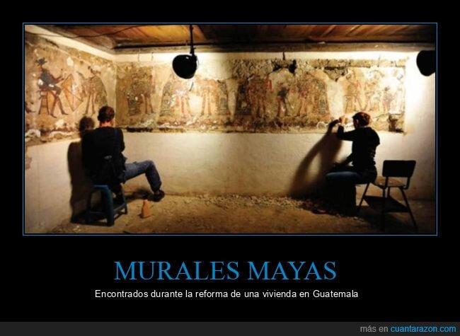 casa,mayas,murales,reforma