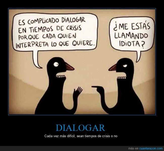 crisis,dialogar,interpretar