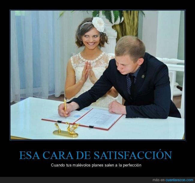 boda,cara,firmando,novia