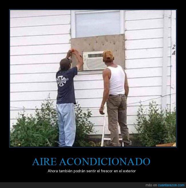 aire acondicionado,exterior,fails,wtf