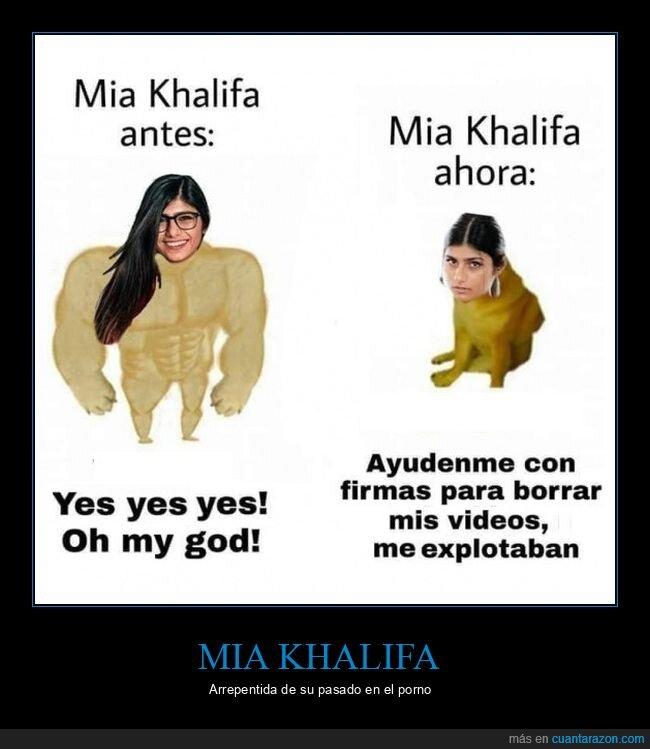 ahora,antes,doge y cheems,mia khalifa