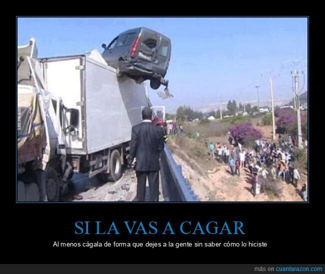 camión,coche,fails,wtf