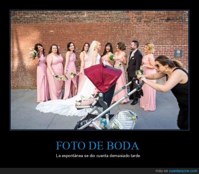boda,carrito,espontánea,fails,foto de boda
