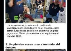 Enlace a Cosas geniales que han sucedido dentro de la Estación Espacial Internacional