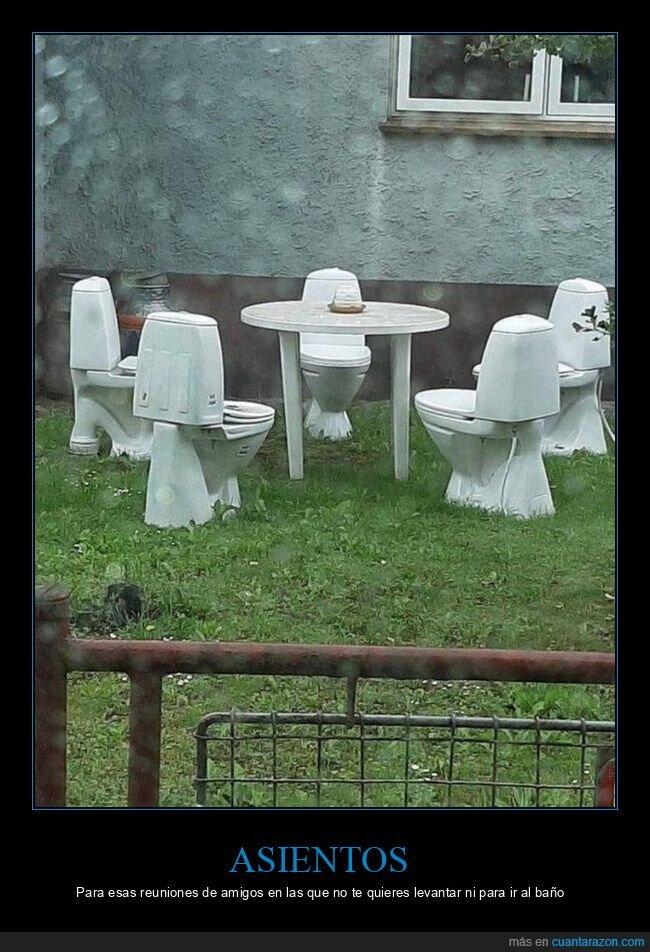 asientos,váteres,wtf