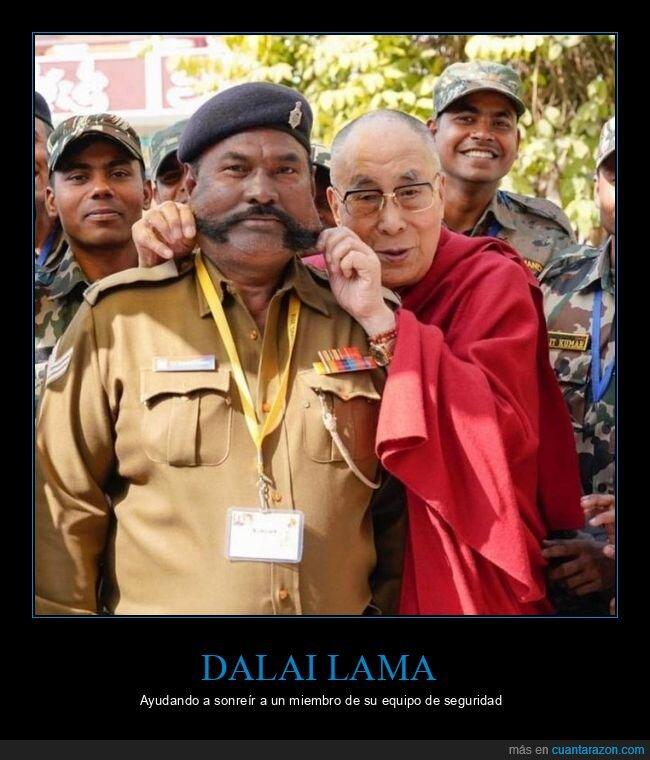 cara,dalai lama,seguridad