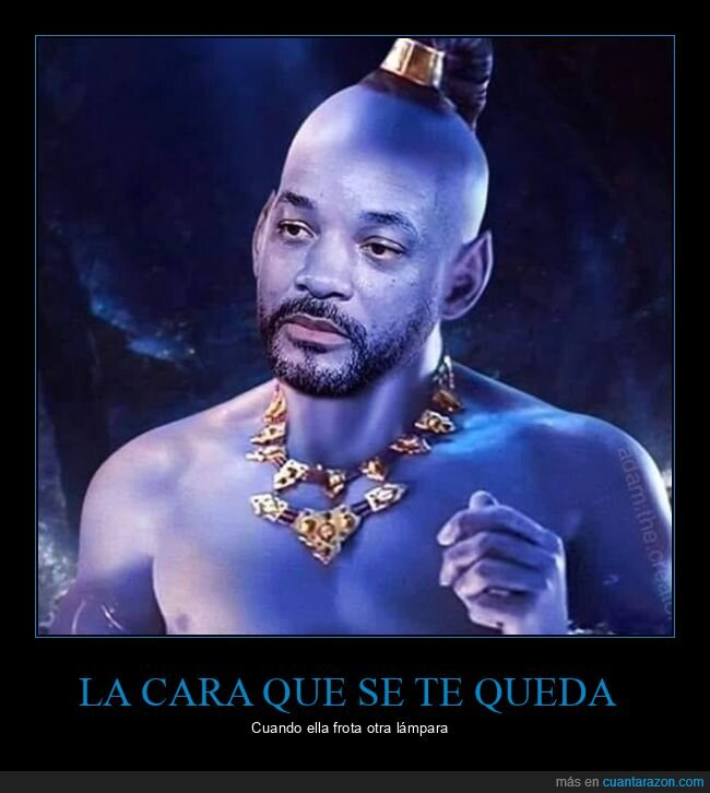 aladdin,cuernos,frotar,lámpara,will smith