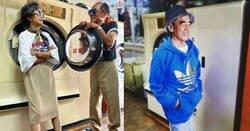 Enlace a Esta pareja de ancianos taiwaneses se visten con las prendas de ropa que gente se ha dejado en su lavandería, y tienen un swag tremendo