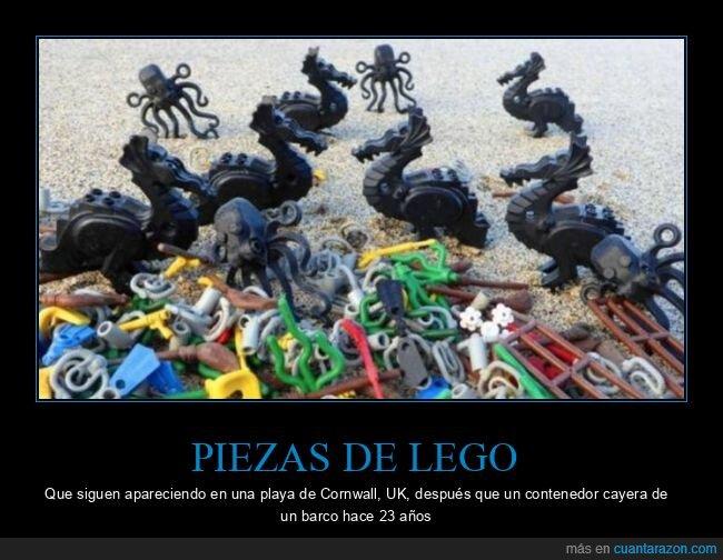 convoy,LEGO,mar,piezas