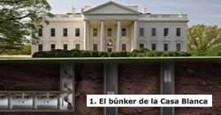 Enlace a Lugares a los que puede escapar el Presidente en caso de un ataque