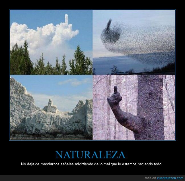 dedo,naturaleza,señales