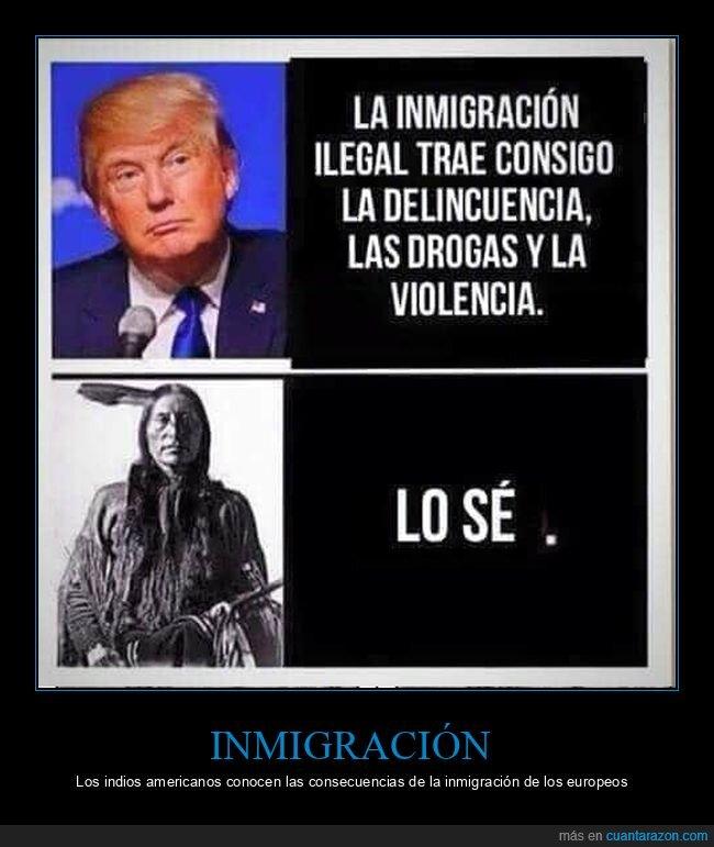 donald trump,indios americanos,inmigración,políticos