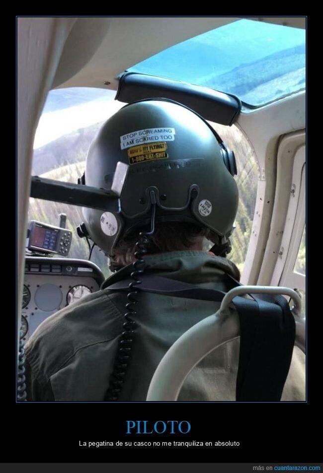 asustado,casco,gritar,pegatina,piloto