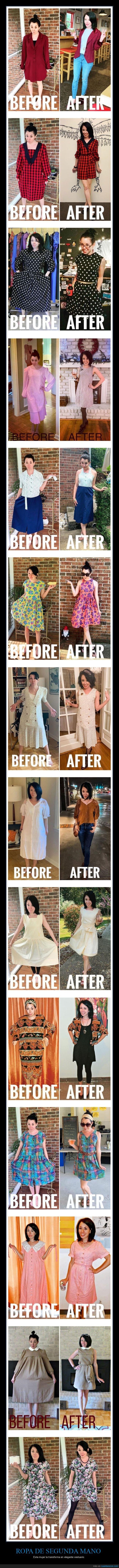 ropa,segunda mano,transformar