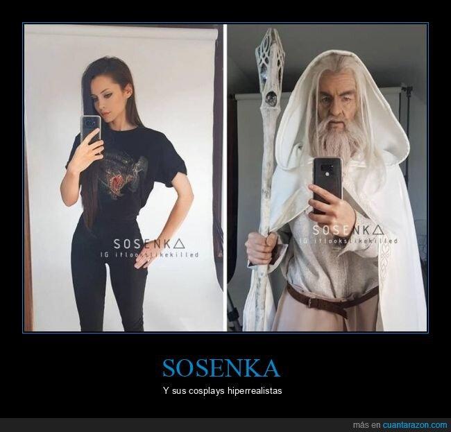 cosplay,el señor de los anillos,gandalf,sosenka