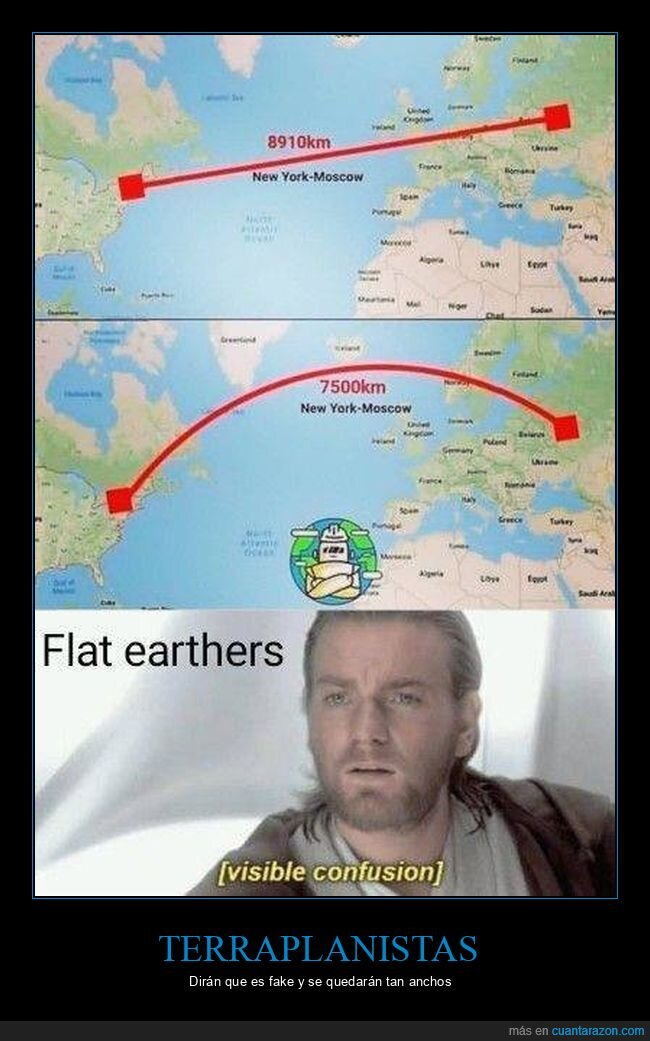 distancias,terraplanistas,tierra