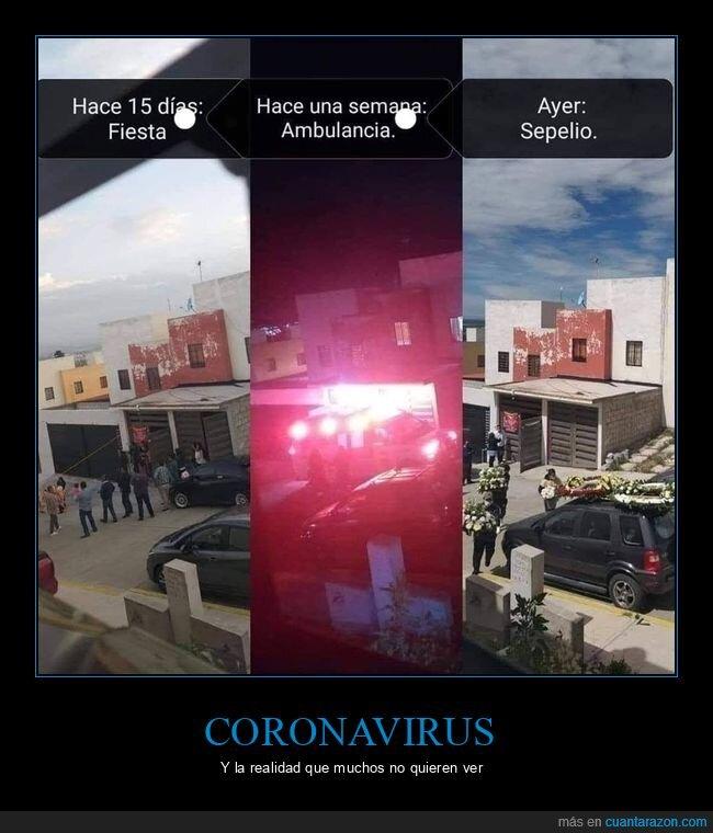 ambulancia,coronavirus,fiesta,sepelio