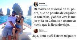 Enlace a Esta chica comparte una foto de su madre con su nuevo novio, otra chica reconoce a su propio padre y queda confusa