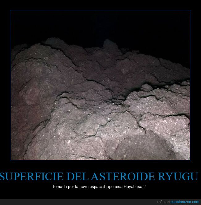 asteroide,ryugu,superficie