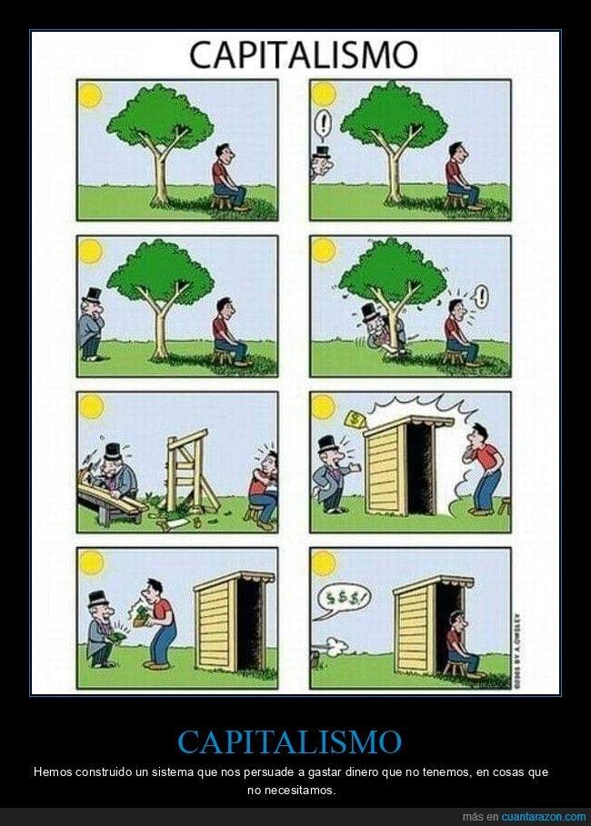 árbol,capitalismo,dinero,talar