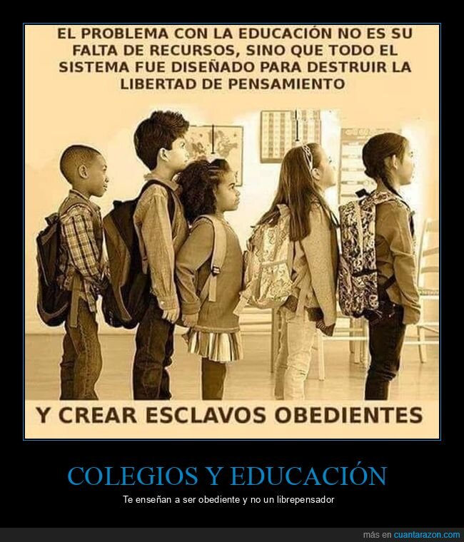 colegios,educación,obediencia