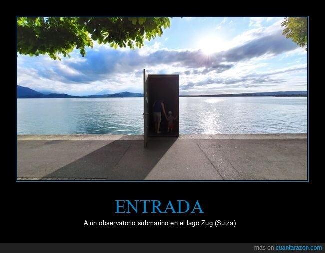 entrada,observatorio,submarino,suiza