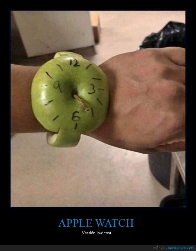 apple watch,low cost,manzana