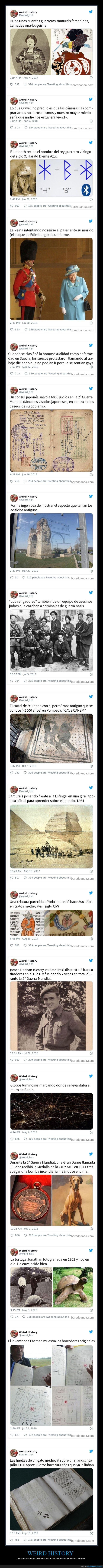 curiosidades,historia,weird history