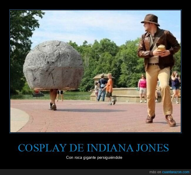cosplay,indiana jones,roca