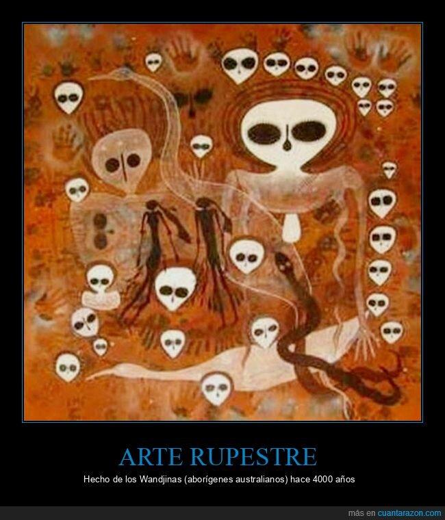 aborígenes australianos,arte rupestre,wtf