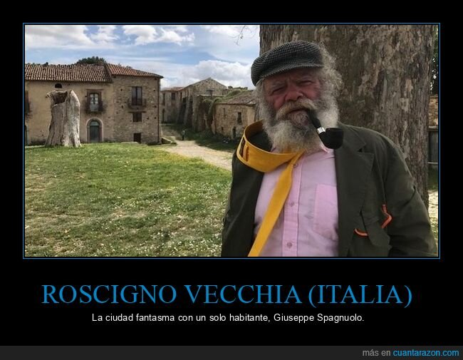 ciudad fantasma,giuseppe spagnuolo,habitante,roscigno vecchia