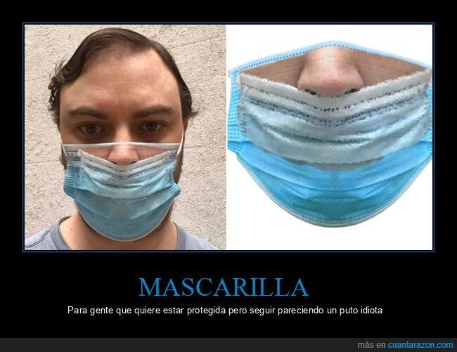 coronavirus,mascarilla,nariz