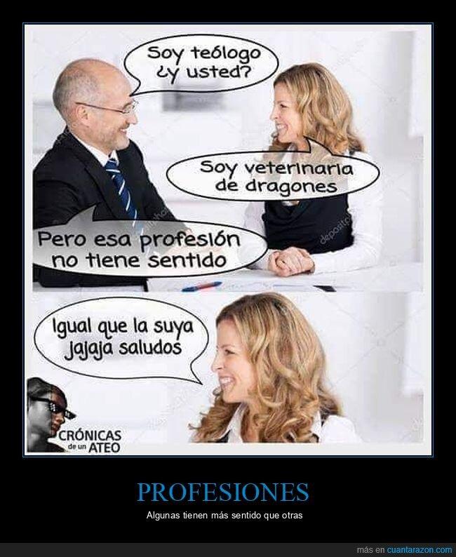 profesión,teólogo