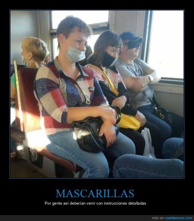 coronavirus,fails,mascarillas