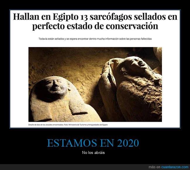 egipto,hallazgo,sarcófagos