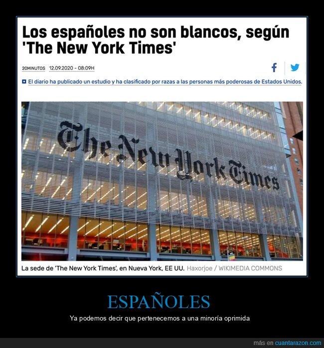 blancos,españoles,new york times