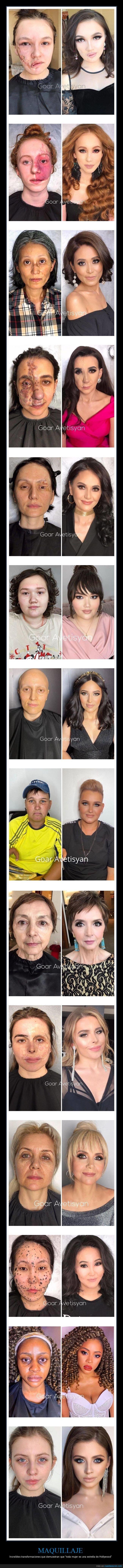 antes,después,maquillaje,transformaciones