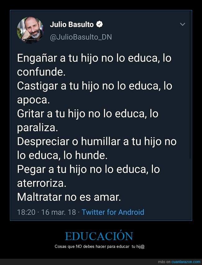 educación,hijos