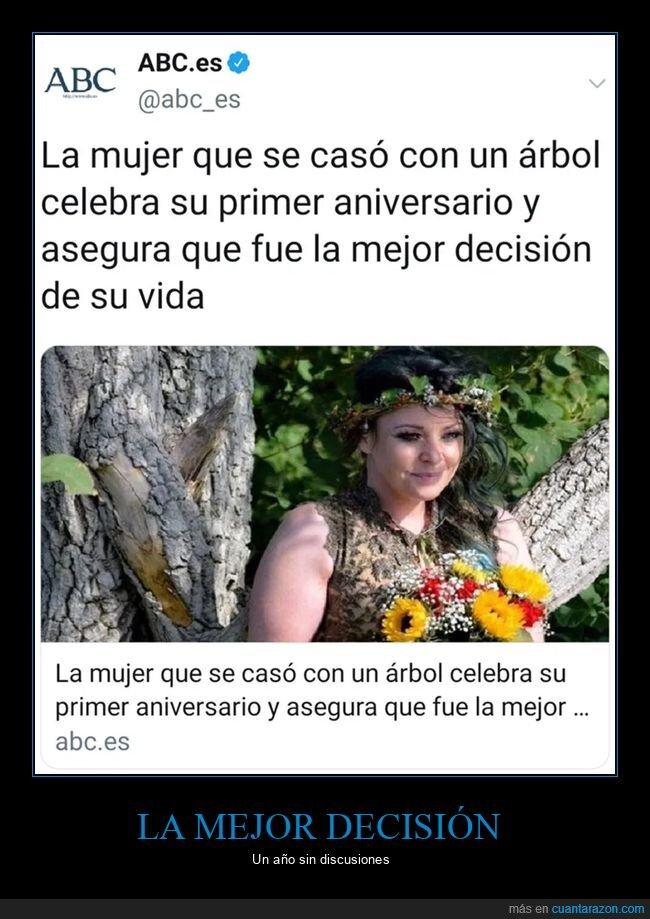 árbol,casarse,decisión