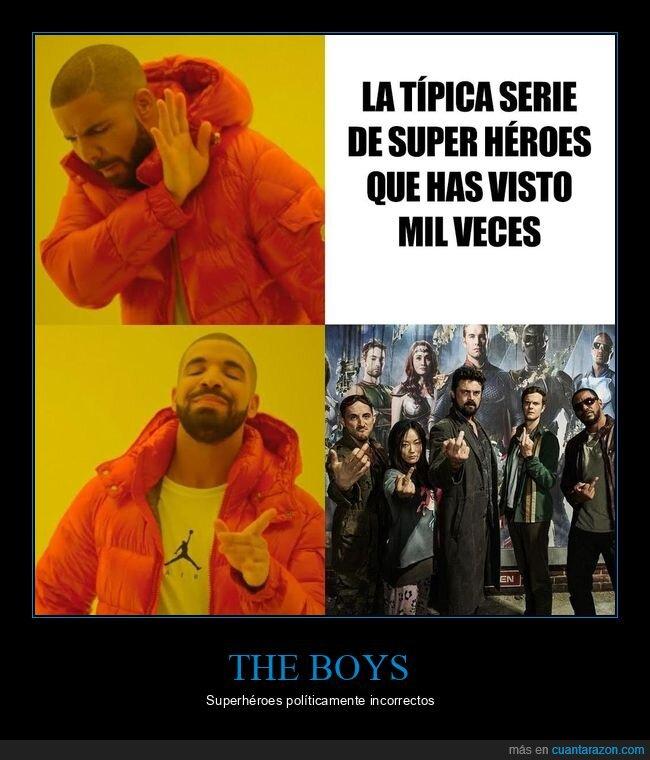 amazon prime videos,drake,políticamente incorrectos,superhéroes,the boys