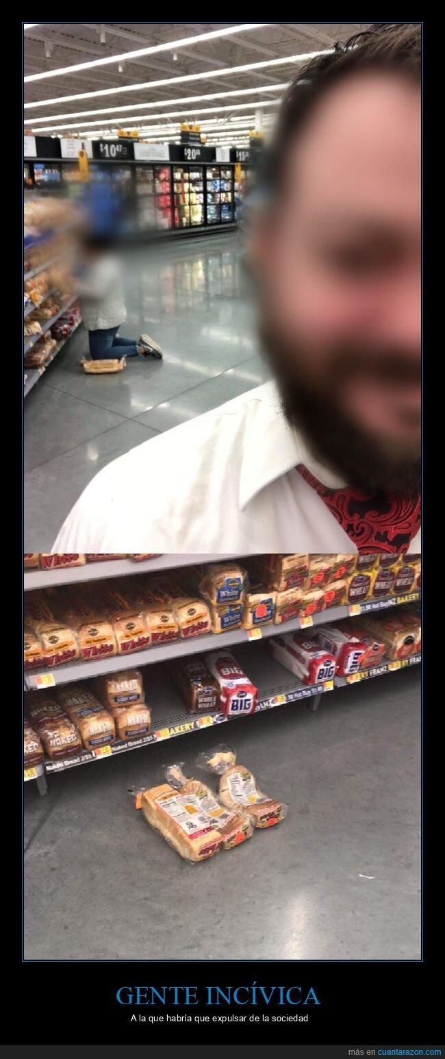 pan de molde,supermercado,wtf