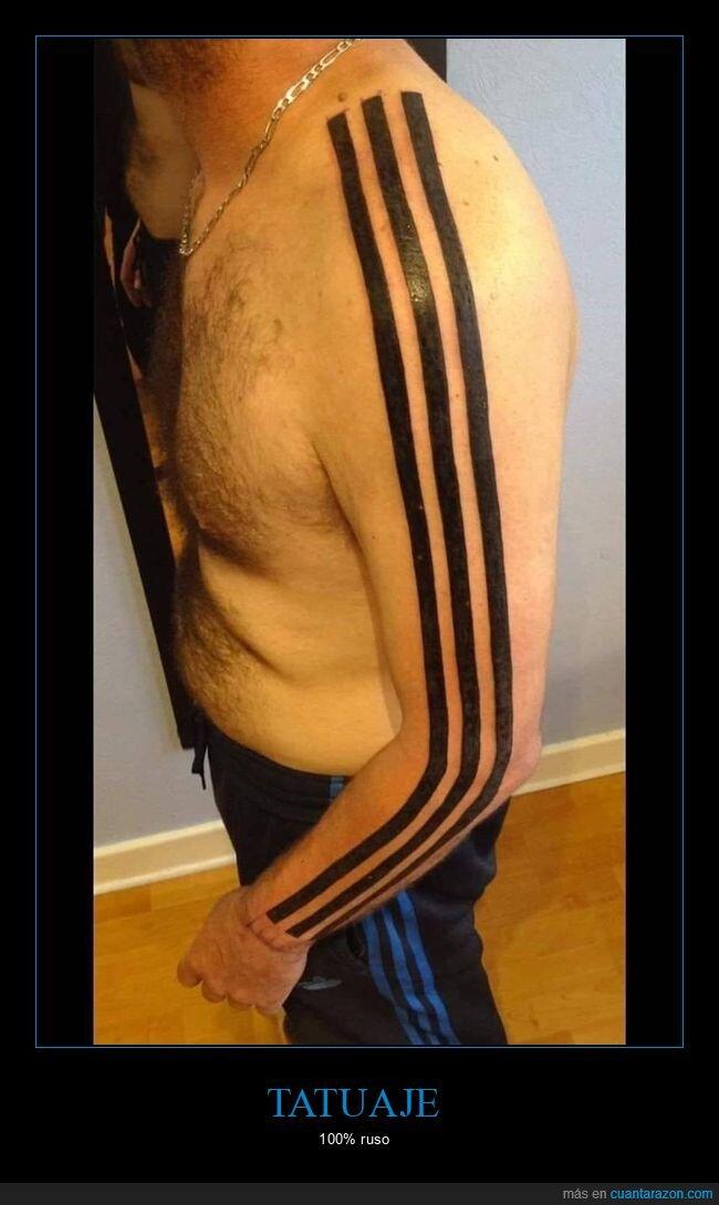 adidas,rusos,tattoo