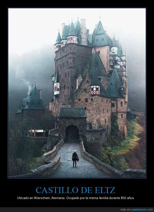850 años,castillo,eltz,familia