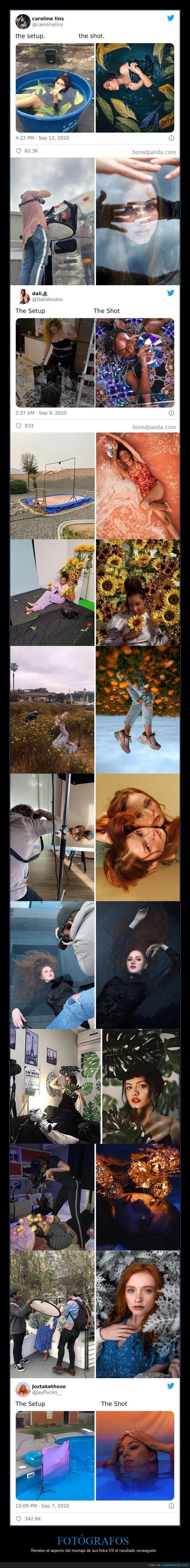 fotografía,fotógrafos,montaje,resultado