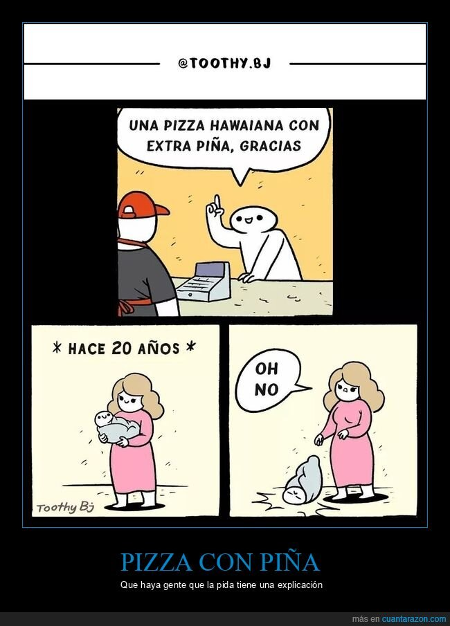 bebé,caer,piña,pizza