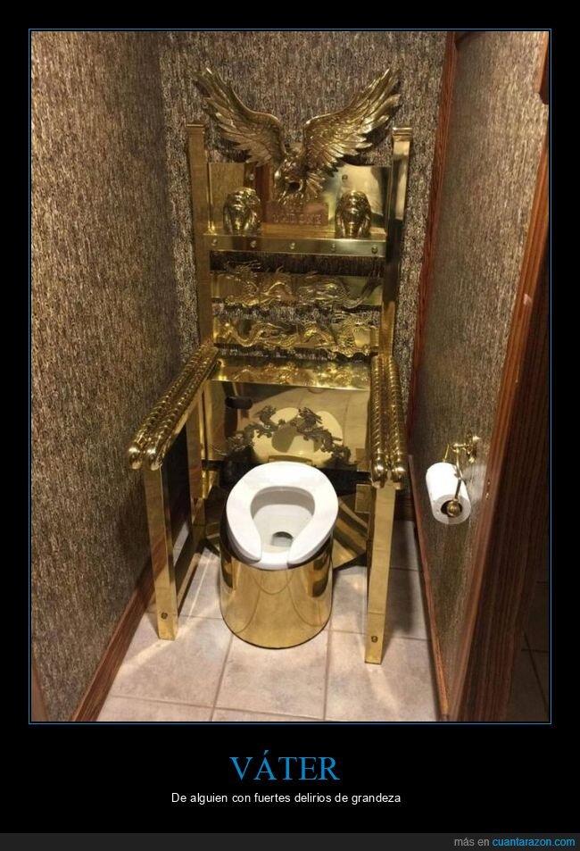 oro,trono,váter,wtf
