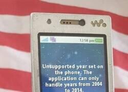 Enlace a Un móvil que solo podía durar 10 años