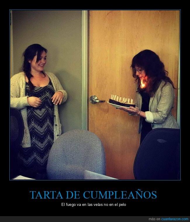 cumpleaños,fails,fuego,tarta,velas
