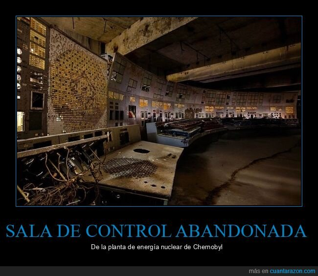 central nuclear,chernobyl,sala de control